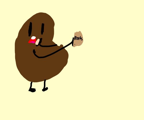 Bean eating beans
