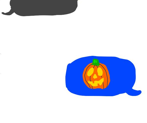 Jack-o-lantern meme