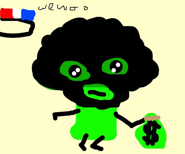 Broccoli thief