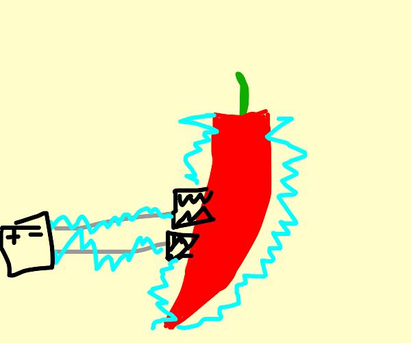 Shocked chilli