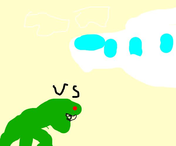 Dinosaur Vs. Airplane