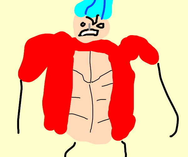 Cranky from one piece