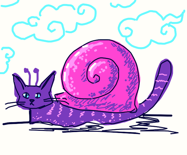 Angry Purple CatSnail