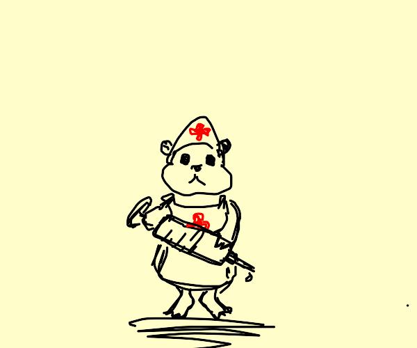 hamster nurse