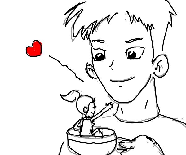 Girlfriend in a teacup