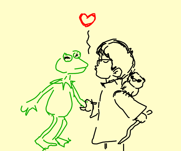 Harry Potter falls in love with Kermit