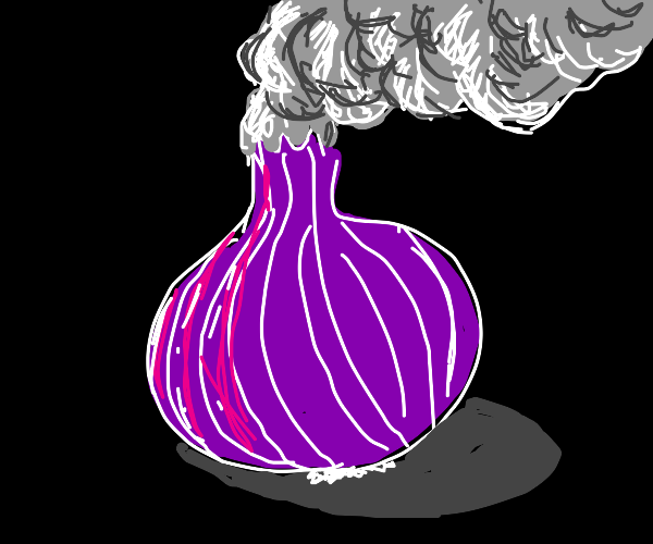 Smokin' onion