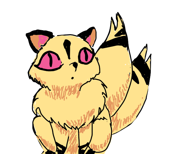 Alien cat.