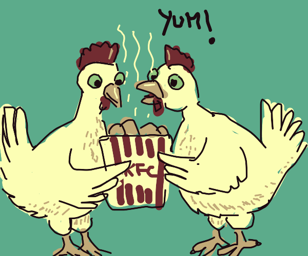 Cannibalistic Chickens