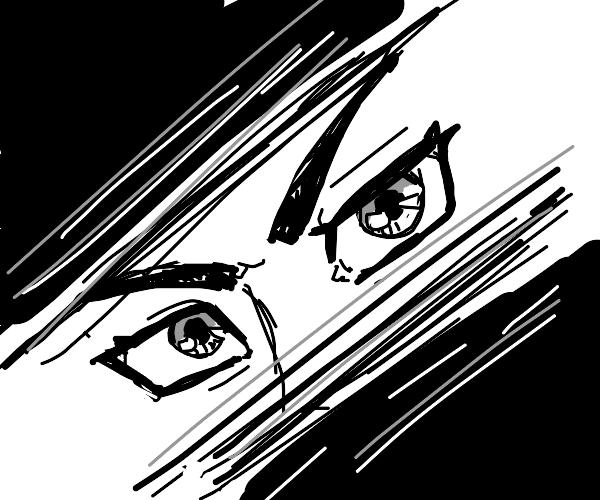 Anime eye zoom