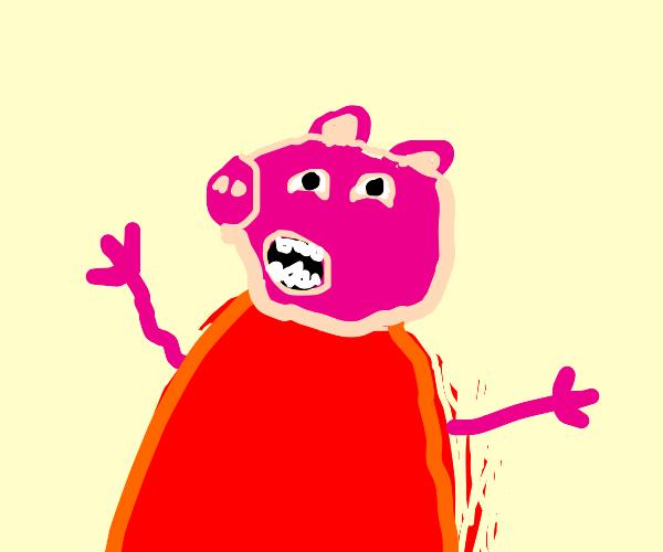 Peppa pig SCREAMING!!!