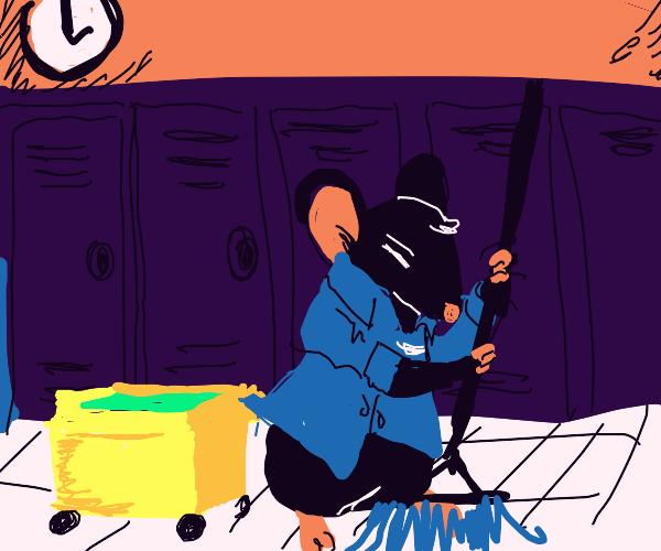 Rat Janitor