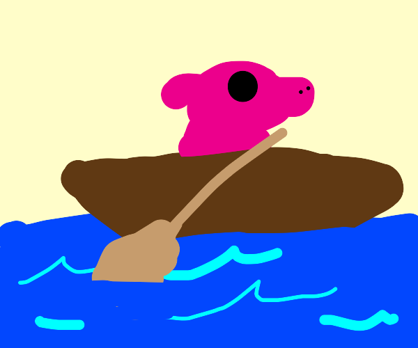 Pig On A Boat