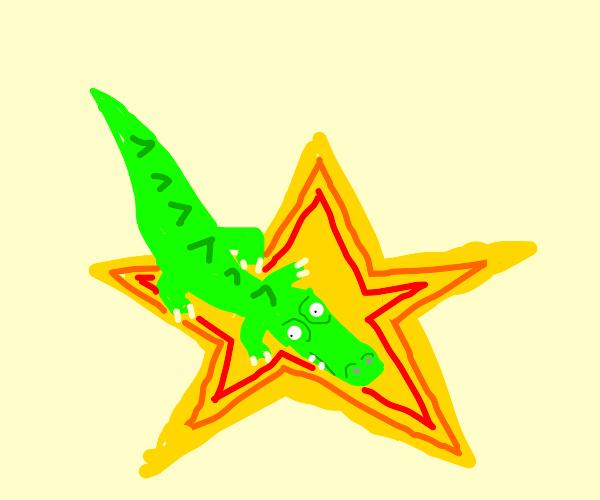Alligator on a Star