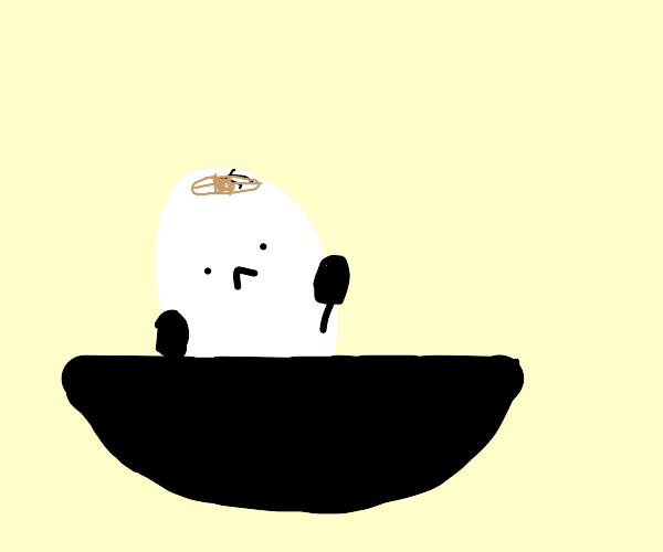 Humpty Dumpty in a Bowl