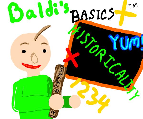 baldis basics title screen