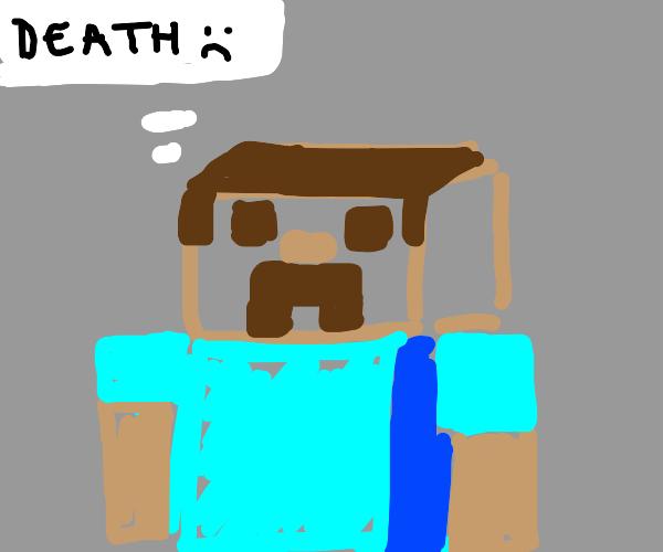 Minecraft boy deals with dark thoughts