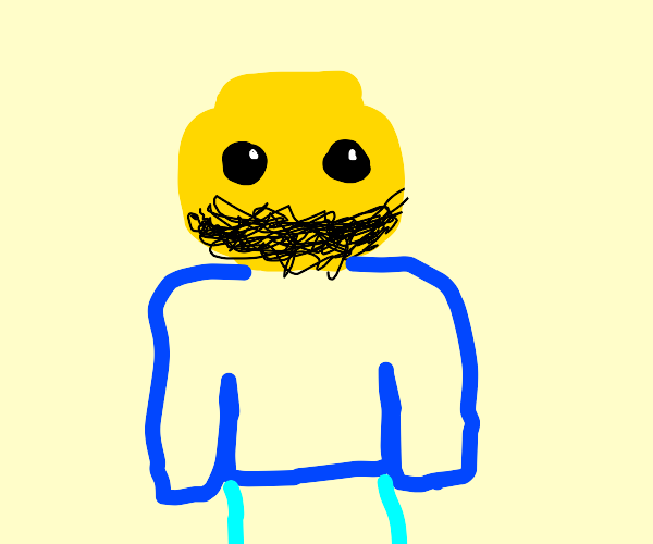 bearded lego figure