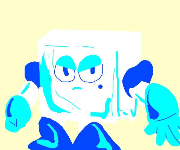 icecube-man