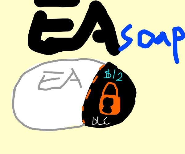EA makes soap