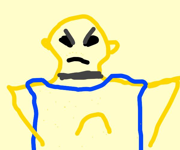 Underpaid sand man