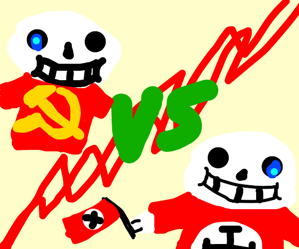 Sans The Communist Vs Sans The Nazi