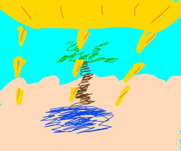 desert mirrage