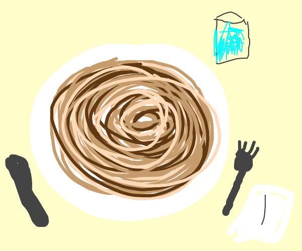Beautiful noodles