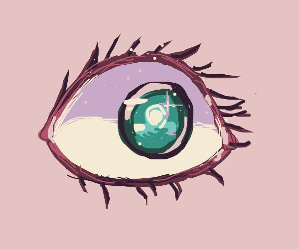 Lovely scary eye