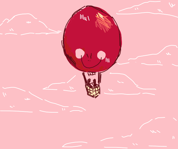 Evil sentient hot air balloon