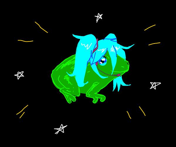 Frog miku