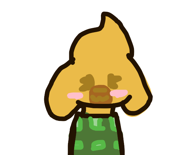 Isabelle from animal crossing :)