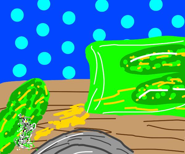 Mouldy pickle