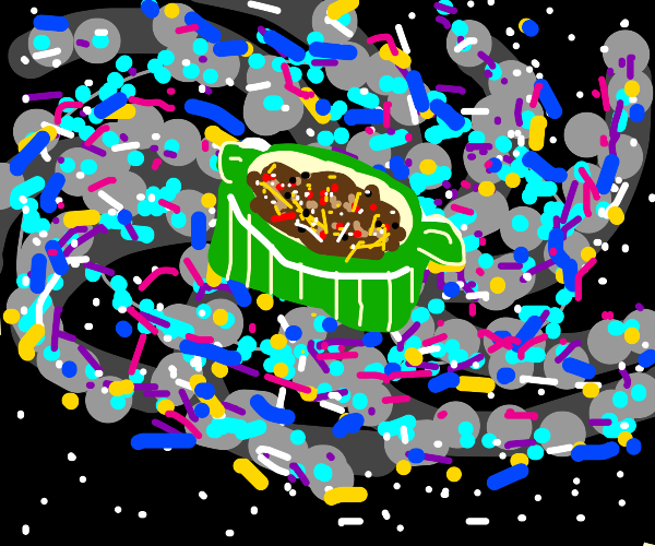 The casserole at the center of the galaxy