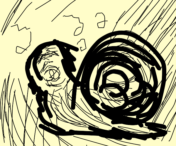 uzumaki snail person singing