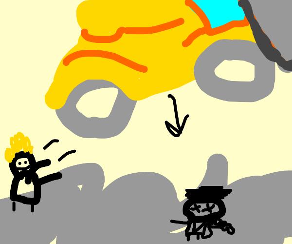 Death by Steamroller!