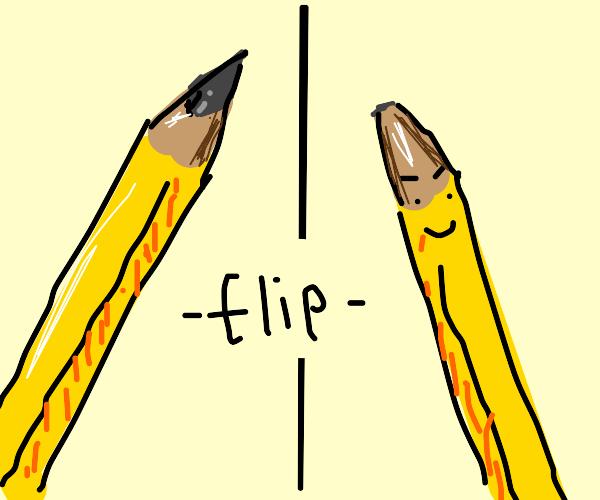 Evil pencil