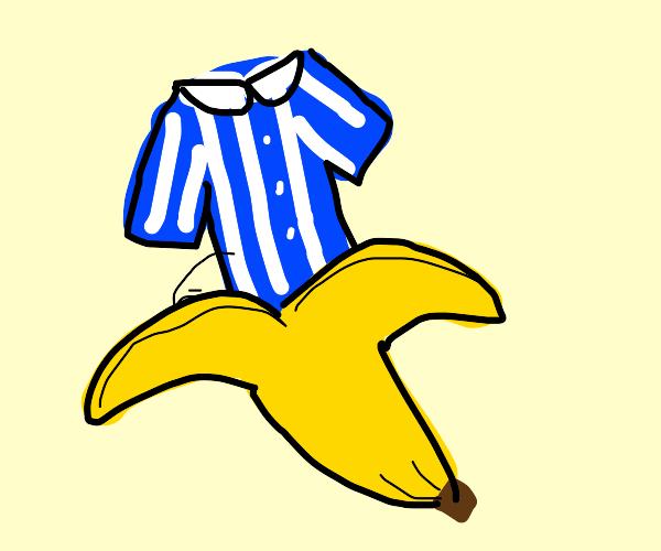 Pyjamas, in bananas.