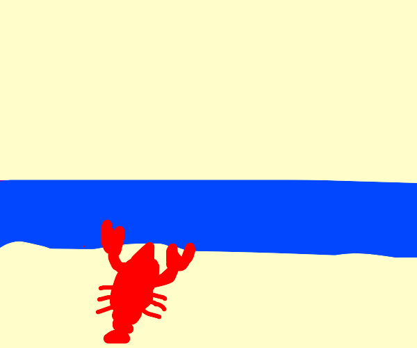 lobster goes out to sea