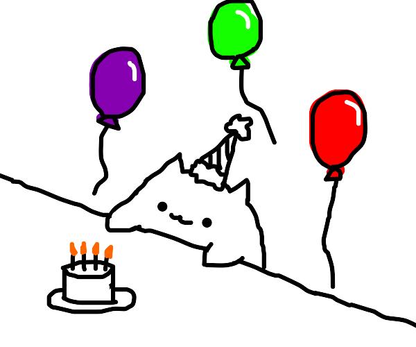 bongo cat birthday :D