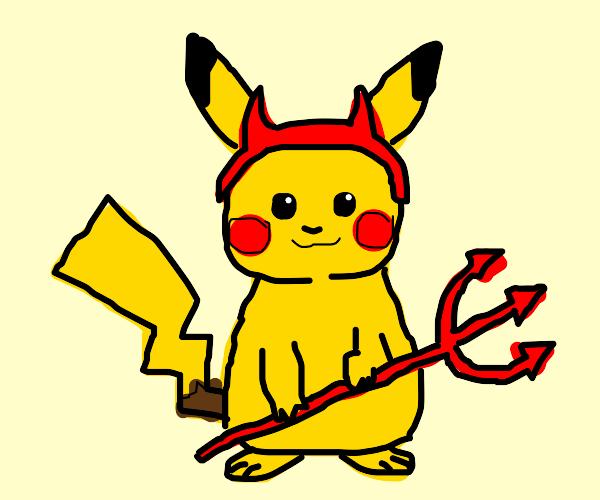 demon pikachu
