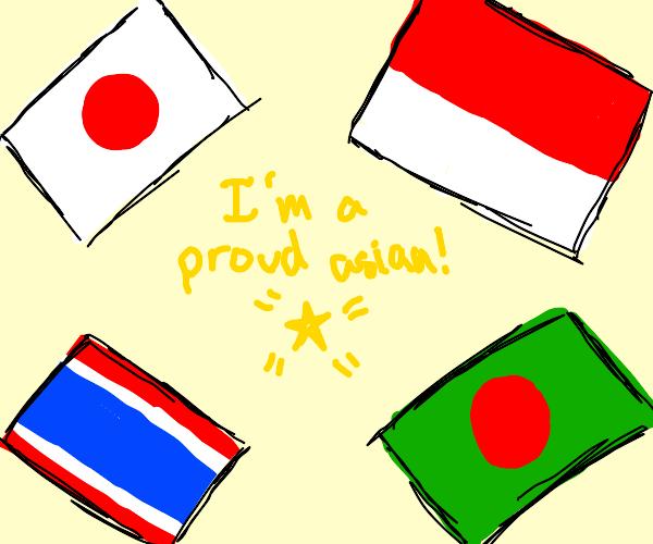 Asian pride flag??