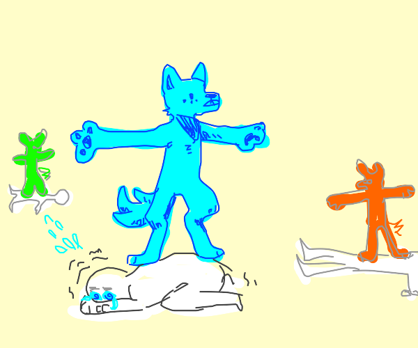 furries t-posing on the innocence OwO
