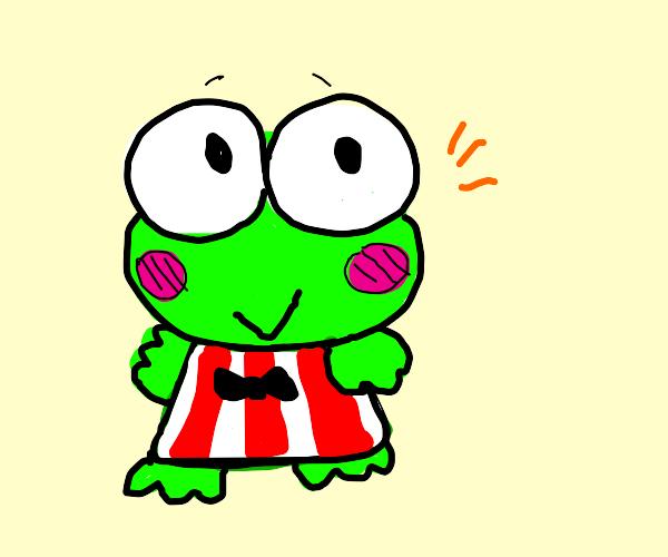 Korokki (hello kitty frog guy)