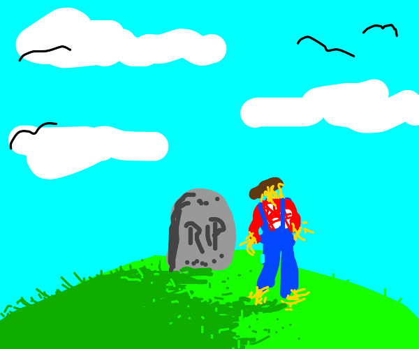 the scarecrow visits my grave everyday