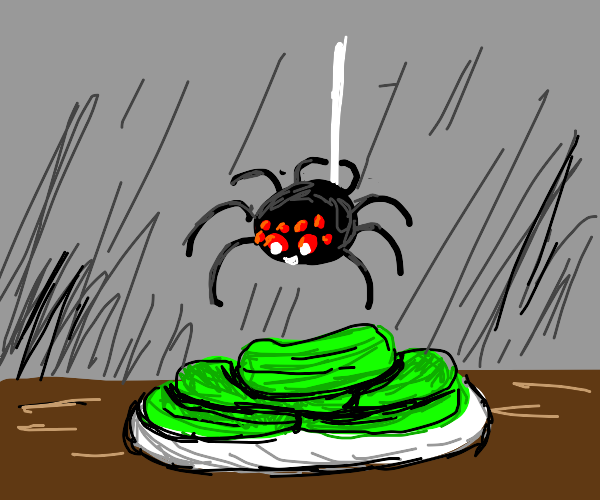 spiders pull a mission impossible for pickles
