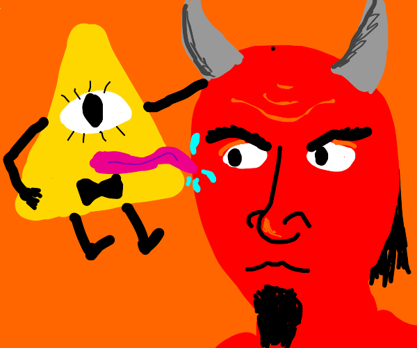 Bill Cypher licks Satan