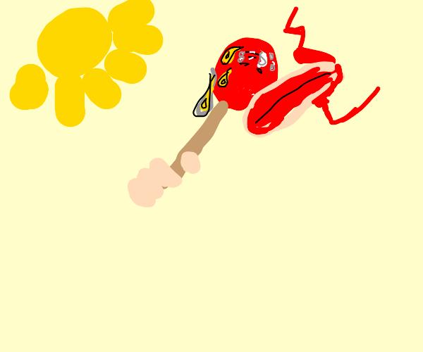 sweaty popsicle