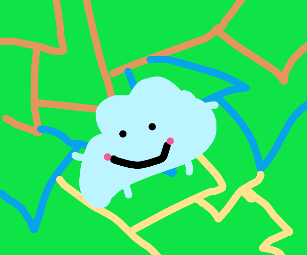 Diddly: A friendly blob in an abstract world