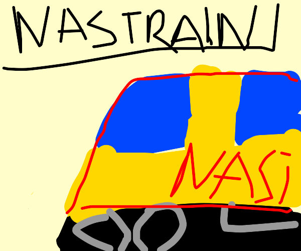 It's NASCAR but with trains